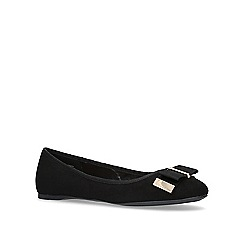 Carvela - Black 'Melody Bow' flat ballerina shoes