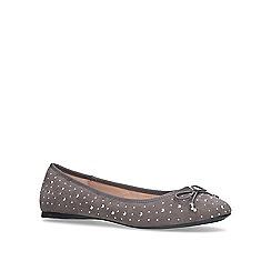 Carvela - Grey 'Melody Stud' flat ballerina shoes