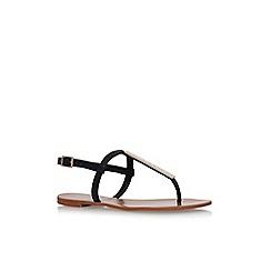 Carvela - Black 'Boston' flat sandals