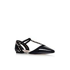 Carvela - Black 'Mannie' flat sandals