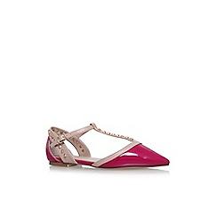 Carvela - Pink 'Mannie' flat sandals