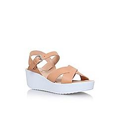 Miss KG - Brown 'Parker' flat sandals
