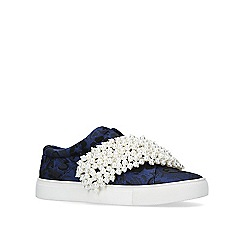 KG Kurt Geiger - Blue 'Ottis' slip on trainers
