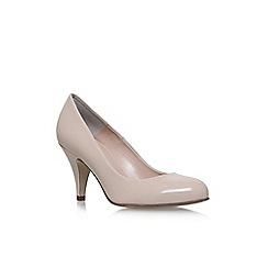 Carvela - Natural 'Adam 2' high heel court shoes