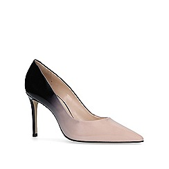 Carvela - Beige 'Alison' mid heel court shoes