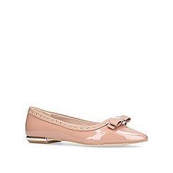 Miss KG - Nude 'Nisha' flat ballerina shoes