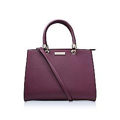 Carvela - Red 'Darla sb' tote handbag with shoulder straps.