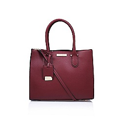 Carvela - Red 'Robyn structured' tote bag