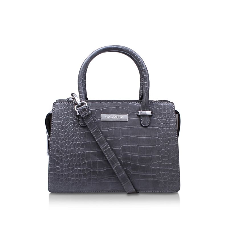 Carvela Grey Holly Mini Bag Cross Body bag