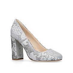 Nine West - Grey 'Denton' high heel court shoes