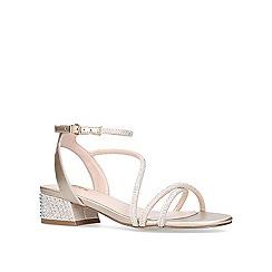 Carvela - Bronze 'Governor' low heel sandals