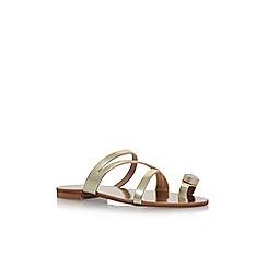 Carvela - Gold 'Klass' flat sandals