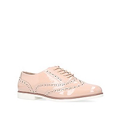 Carvela - Nude 'Miller' flat lace up brogues