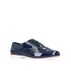 Carvela - Navy 'Miller' flat lace up shoes