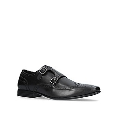 KG Kurt Geiger - Black 'Kirkcaldy' monk shoes