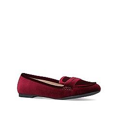 Miss KG - Wine 'Katy' flat loafers