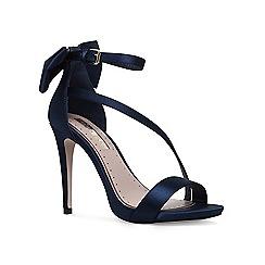 Miss KG - Navy 'Silvia' high heel sandals