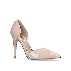 Miss KG - Nude 'Christy' high heel court shoes
