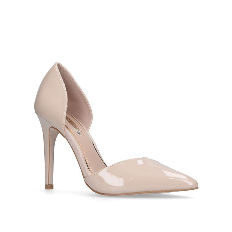 Miss KG Nude Christy high heel court shoes