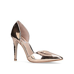 Miss KG - Bronze 'Christy' high heel court shoes