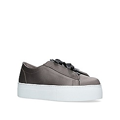 KG Kurt Geiger - Grey 'glee' flat slip on sneakers