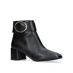 KG Kurt Geiger - Black 'dilly' high heel ankle boot.