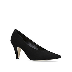 KG Kurt Geiger - Black 'tutu' mid heel court shoes