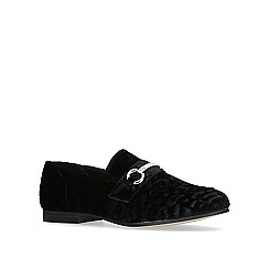KG Kurt Geiger - Black 'galore' flat loafers.