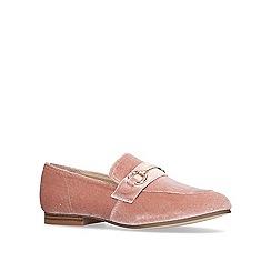 KG Kurt Geiger - Cream 'galore' flat slip on loafers.