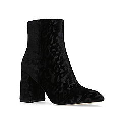 KG Kurt Geiger - Black 'Dollar' high heel ankle boots