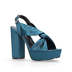 KG Kurt Geiger - Green 'Play' high heel sandals
