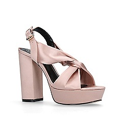 KG Kurt Geiger - Pink 'Play' high heel sandals