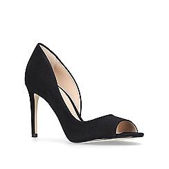 Carvela - Black 'glaze' high heel court shoes