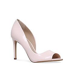 Carvela - Nude 'glaze' high heel sandals