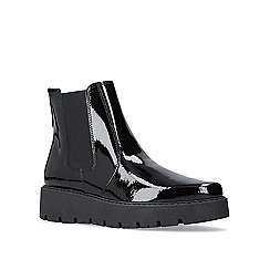 KG Kurt Geiger - Black 'Stompton' high heel ankle boots