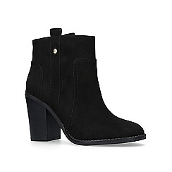 Nine West - Black 'Haynes' high heel ankle boots
