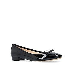 Vince Camuto - Black 'Adema' low heel ballerina shoes