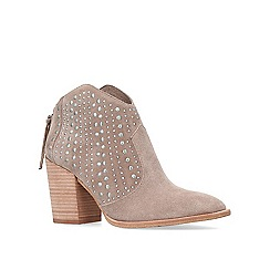 Vince Camuto - Brown Tippie high heel ankle boots