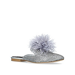 Carvela - Grey 'like' flat slippers