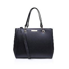 Carvela - Black 'Reign Zip Structured Tote' tote bag