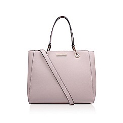 Carvela - Nude 'Reign Zip Structured Tote' tote bag