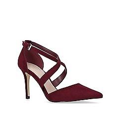 Carvela - Wine 'Kross 2' high heel court shoes