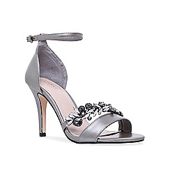 Carvela - Gunmetal 'Krackle' sandals