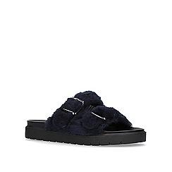 Carvela - Blue 'Krumble' flat sandals