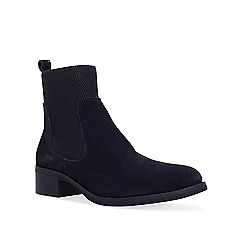 KG Kurt Geiger - Navy 'Ronda' chelsea boots