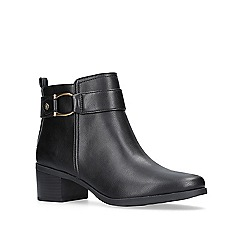 Anne Klein - Black 'Jeannie' ankle boots