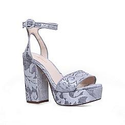 Nine West - Grey 'krewl' ankle strap sandals
