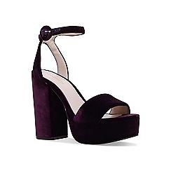 Nine West - Purple 'krewl' ankle strap sandals