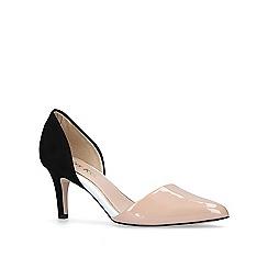 Miss KG - Nude 'Celina' mid heel court shoes