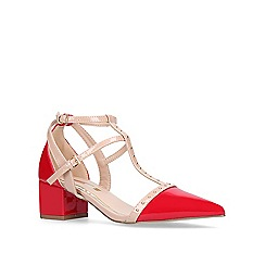 Miss KG - Red 'Averie' court shoes